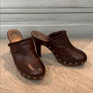"Coach ""Georgia"" platform heels"